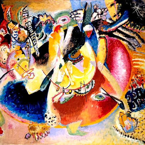 Kandinskij, Improvvisazione con forme fredde - Mart Rovereto Futurismo100